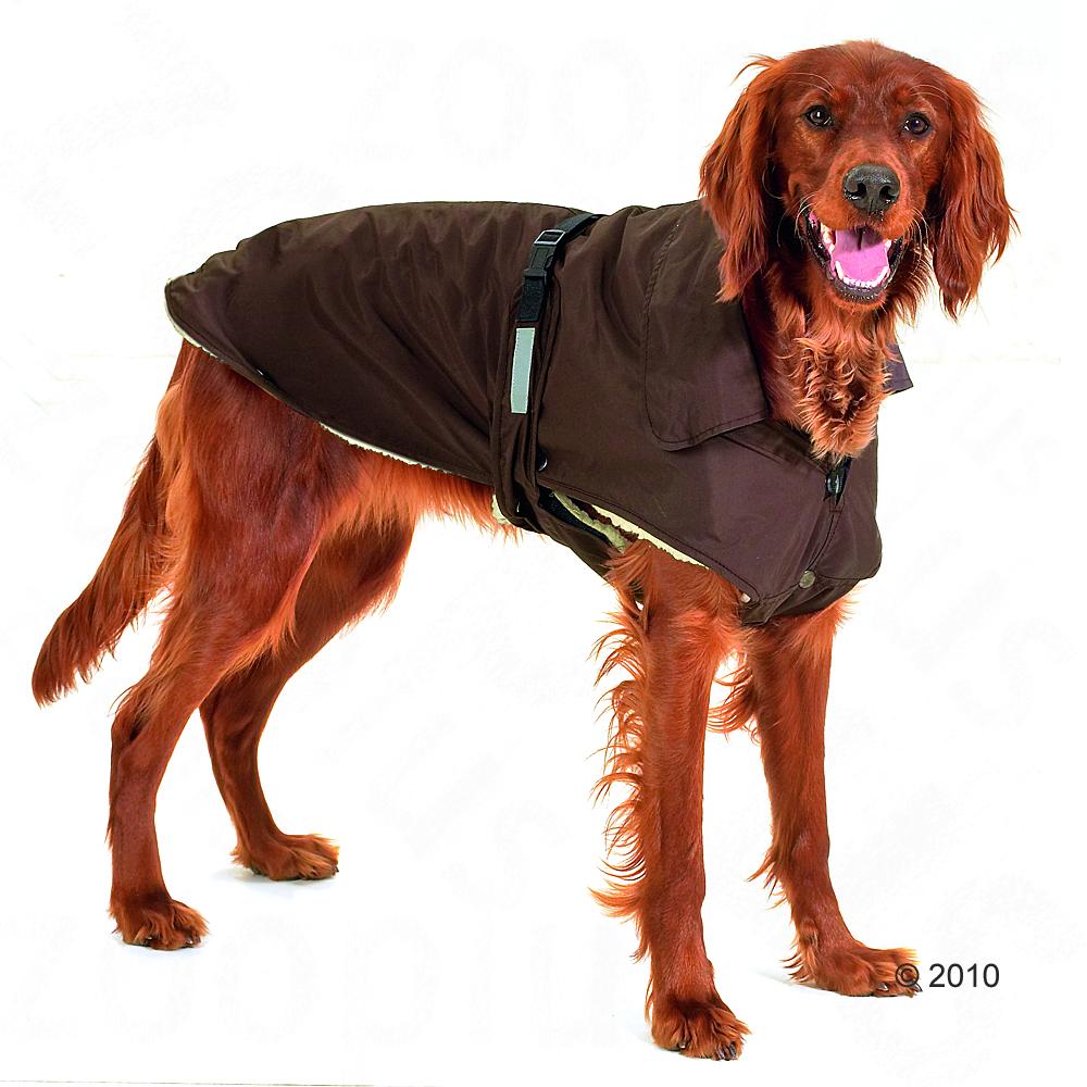 Chubasquero para perros No Limit marrón - - Longitud dorsal: 68 cm