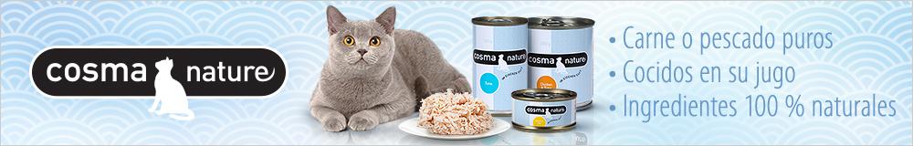 Cosma bolsitas de comida húmeda para gatos