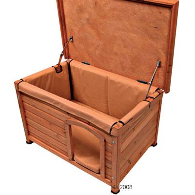 Aislamiento térmico para la caseta Niko - - Para XL: 105 x 66 x 67 cm (LxAnxAl)