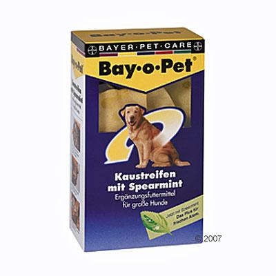 Láminas Spearmint para masticar Bay-o-pet - - 140 g para perros grandes