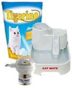 Loja de gatos: comida para gato e acessórios