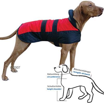 Chubasquero para perros Eisbär - - Talla 65: longitud dorsal 65 cm