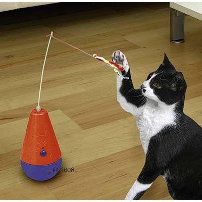 Что можно сделать игрушку для кошки своими руками