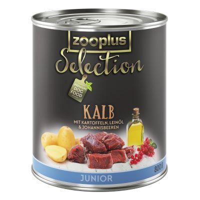 zooplus selection junior kalb