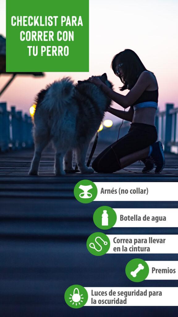 correr con perro